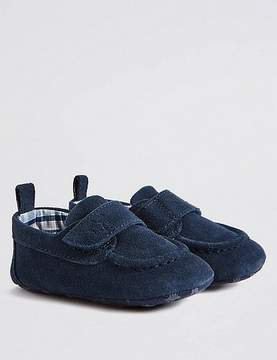 Marks and Spencer Baby Suede Pram Shoe