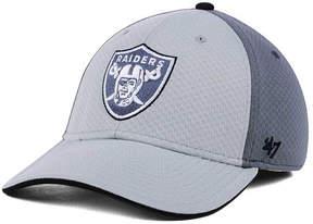 '47 Oakland Raiders Greyscale Contender Flex Cap
