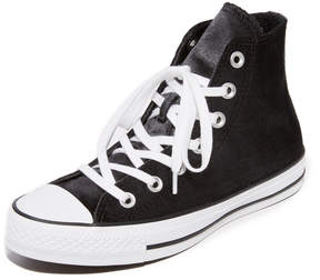 Converse Chuck Taylor All Star Velvet High Top Sneakers