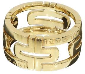 Bulgari 18K Yellow Gold Open Parentesi Ring Size 9