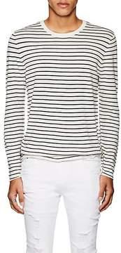 ATM Anthony Thomas Melillo Men's Striped Silk-Blend Slim Sweater