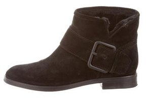 Sigerson Morrison Shearling-Lined Ankle Boots