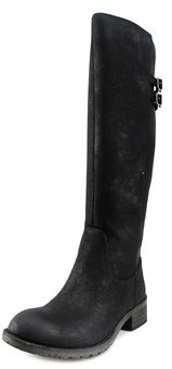 Very Volatile Mira Women Round Toe Synthetic Knee High Boot.