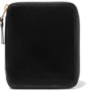 Comme des Garçons - Glossed-leather Wallet - Black