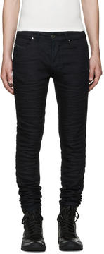 Diesel Black Gold Blue Stretch Skinny Jeans
