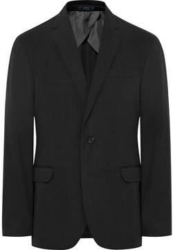 Polo Ralph Lauren Black Morgan Slim-Fit Garment-Dyed Cotton-Ripstop Blazer