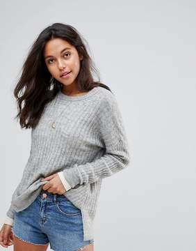 Abercrombie & Fitch Hi Lo Rib Knit Sweater