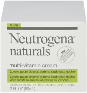 Neutrogena Naturals Multi-Vitamin Cream