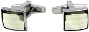 Swarovski Square Stainless Steel Cufflinks