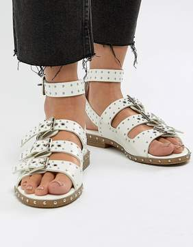 Missguided Tassel Flat Sandals