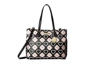 Betsey Johnson Triple Compartment Satchel Handbags