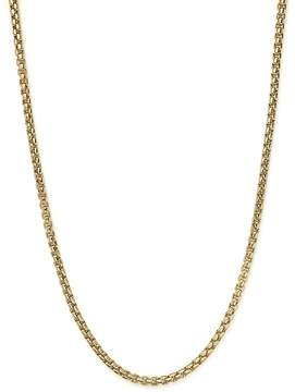 Bloomingdale's Box Link Necklace in 14K Yellow Gold, 20 - 100% Exclusive