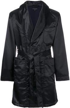 Engineered Garments belted robe coat