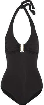 Melissa Odabash Tampa D-g Halterneck Swimsuit - Black