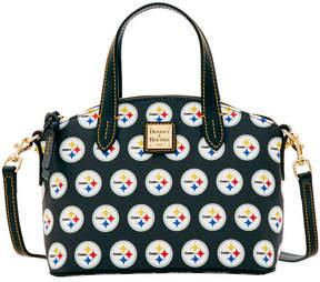 Dooney & Bourke Pittsburgh Steelers Ruby Mini Satchel Crossbody - BLACK - STYLE