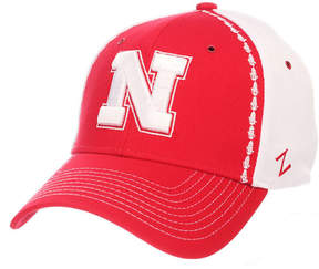 Zephyr Nebraska Cornhuskers Pattern Pipe Stretch Cap
