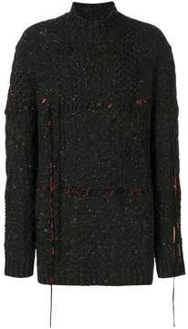 Damir Doma textured oversized sweater