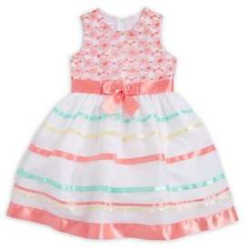Iris & Ivy Little Girl's Sleeveless Ribbon Dress