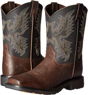 Ariat Workhog Wide Square Toe Cowboy Boots