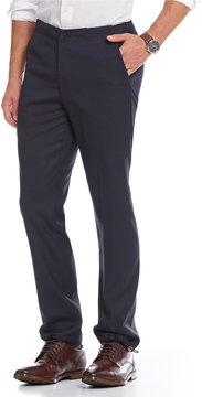 Murano Alex Modern Slim-Fit Flat-Front Drawcord Cuff Pants