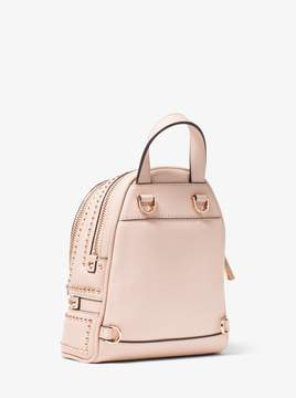 MICHAEL Michael Kors Rhea Mini Rose Studded Leather Backpack