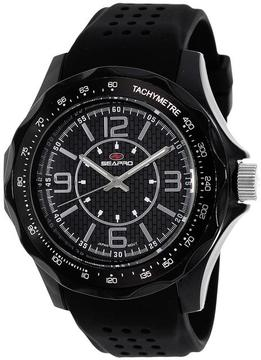 Seapro SP4110 Men's Dynamic Black Silicone Watch