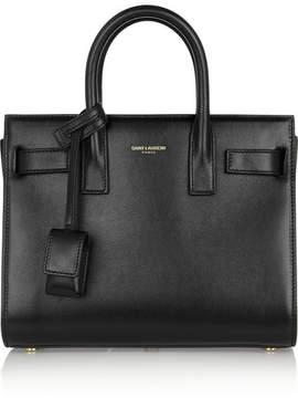Saint Laurent Sac De Jour Nano Leather Tote - Black