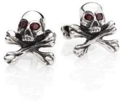King Baby Studio Skull & Cross Bones Cuff Links