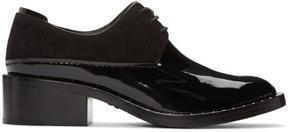 3.1 Phillip Lim Black Patent Leather Alexa Derbys