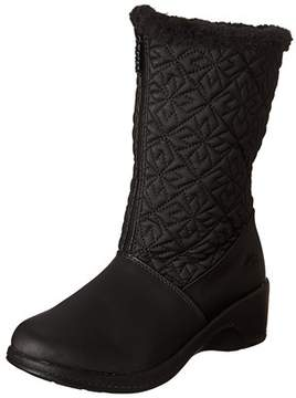 totes Womens Nancy Faux Fur Closed Toe Mid-calf Cold Weather Boots.