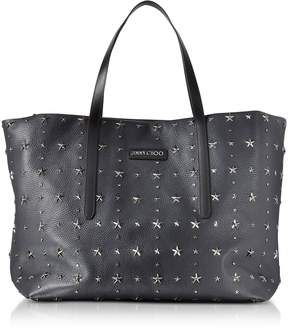 Jimmy Choo Pimlico Navy/Slate Leather Large Tote