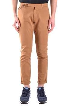 Brian Dales Men's Brown Cotton Pants.