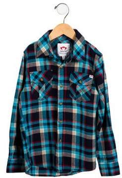 Appaman Fine Tailoring Boys' Long Sleeve Plaid Shirt w/ Tags