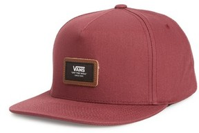 Vans Men's Fiske Snapback Cap - Red