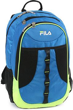 Blue & Neon Lime Fila Radius Tablet & Laptop School Backpack