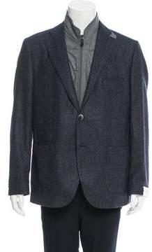 Luigi Bianchi Mantova Two-Button Wool Sport Coat