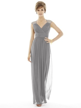 Alfred Sung - D693 Bridesmaid Dress in Quarry
