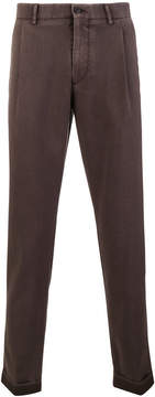Berwich straight-leg trousers