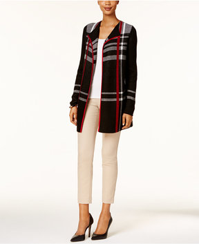 Charter Club Plaid Cardigan, Created for Macy's