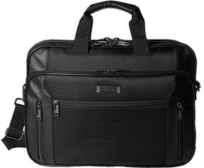 Kenneth Cole Reaction An Easy Decision 5 Double Gusset Top Zip EZ-Scan Portfolio/Computer Case Computer Bags