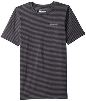 Columbia Kids Cullman Crest Striped Tee Boy's T Shirt