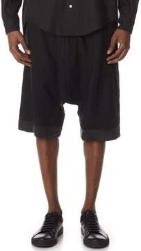 Robert Geller The Washed Linen Shorts