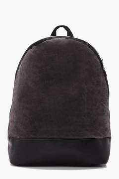 boohoo Lux Suedette Back Pack