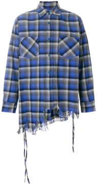 Facetasm classic plaid shirt