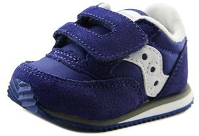Saucony Baby Jazz Hl Infant Round Toe Suede Blue Walking Shoe.