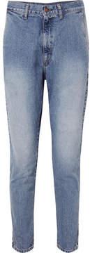 Bassike Lo Slung Jeans - Mid denim