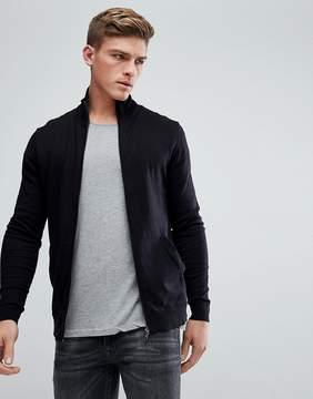 Esprit Cashmere Mix Zip Through Sweater