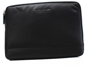 Marc Jacobs Black Nylon 13 Commuter Mallorca Padded Clutch Bag - BLACKS - STYLE