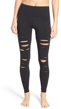 Alo Women's Ripped Airbrush Leggings