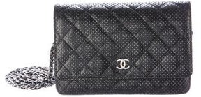 Chanel Perforated Wallet On Chain